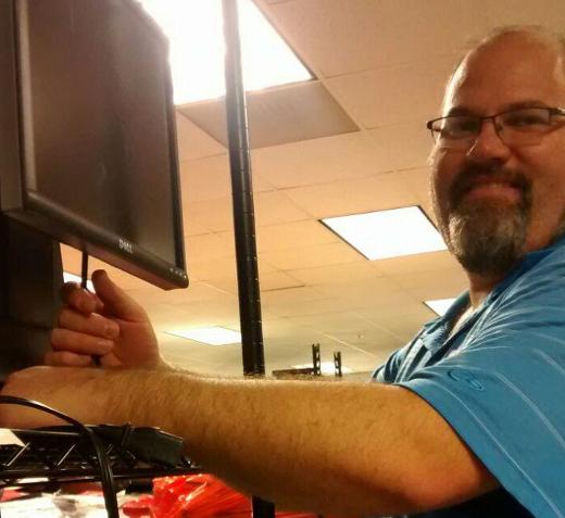 Ken testing monitors