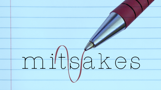 red pen editing mistakes