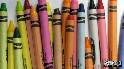 Hands on computing (crayons)