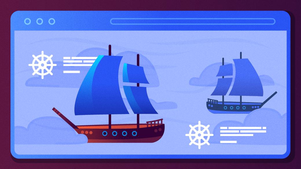 Ships at sea on the web