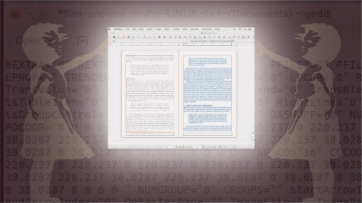How to edit Adobe InDesign files with Scribus and Gedit