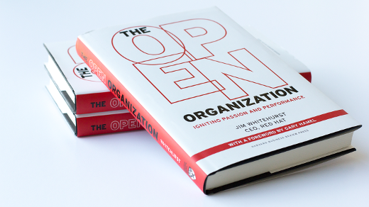 Open Organization book cover stacked