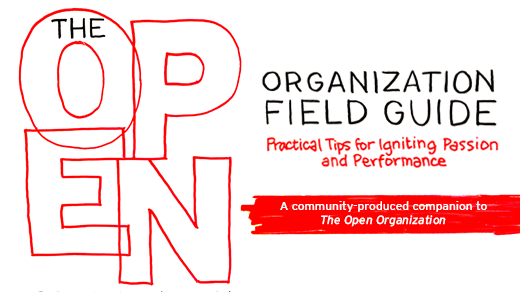 Open Organization field guide cover