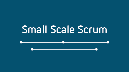 Introduction to Small Scale Scrum