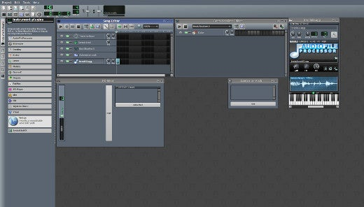 Linux Multimedia Studio, LMMS, interface