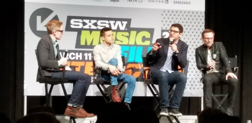 Mr. Robot TV show panel at SxSW 2016