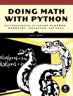 Doing Math with Python book cover