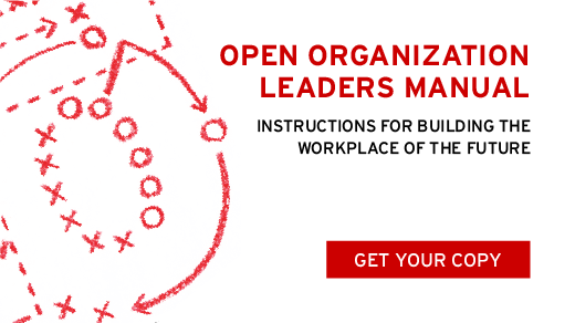 Open Organization Leaders Manual cover