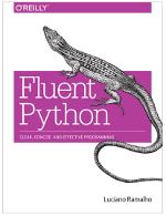 Fluent Python book cover