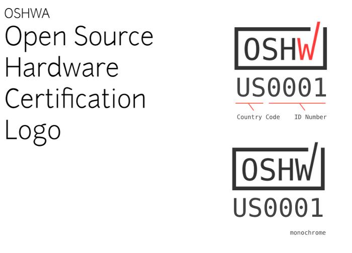 Open Source Hardware Association certification logo