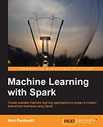 Machine Learning with Spark book cover