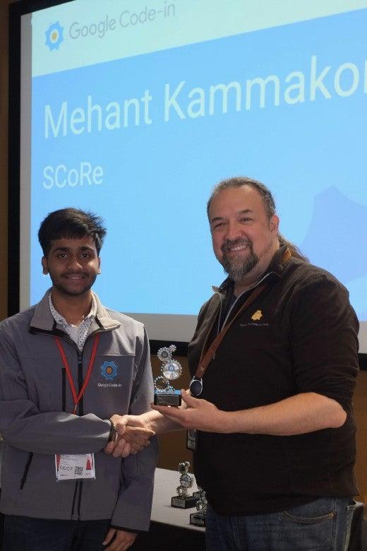 Google Code-in Mehant Kammakomati