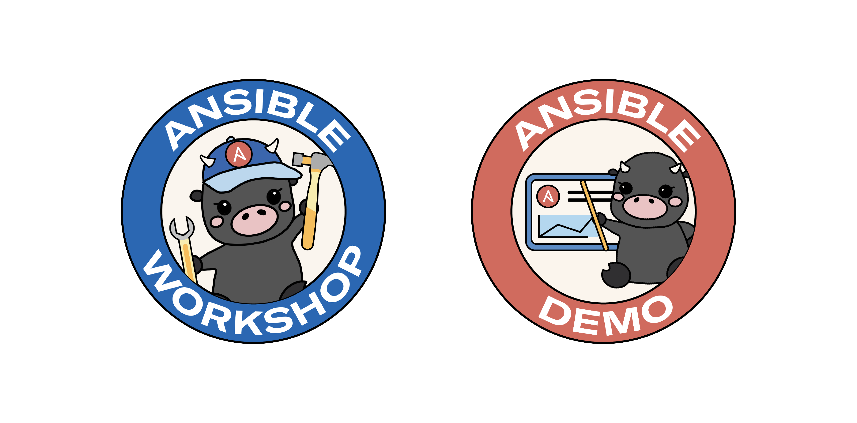 New Ansible services logos