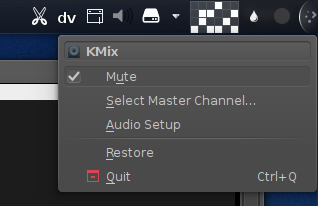 Pulse mute setting
