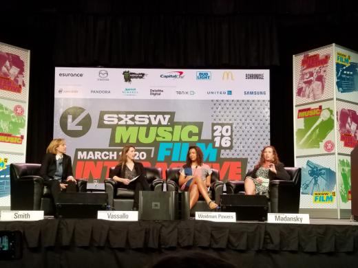 Elephant in the valley panel at SXSW 2016