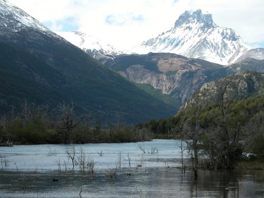 Chile mountain range