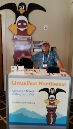 Bill Wright, founder of LinuxFest Northwest