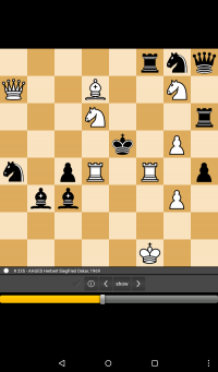 The Chess game app