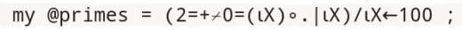 My Perl equation