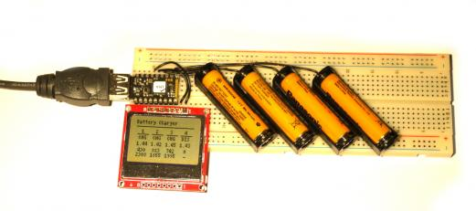 battery charger with Espruino