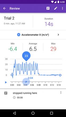Google Science app