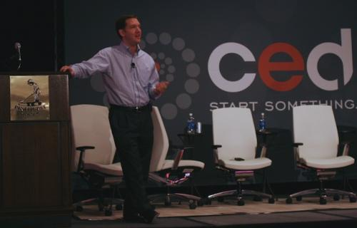 Jim Whitehurst at CED Venture 2010 conference