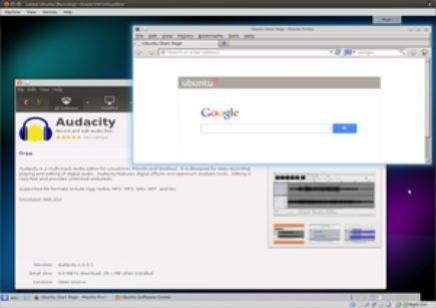 Firefox and Ubuntu on K