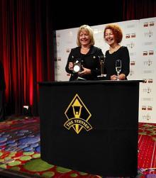 2014 Gold Stevie Award Winners, Denise Dumas and Katrinka McCallum