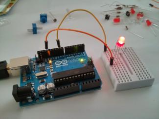 Arduino starter pack fading LED