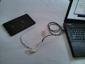 Google glass development environment