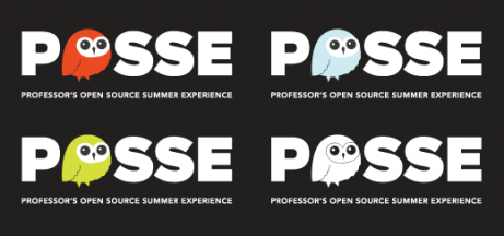 POSSE logo colors (inverse)
