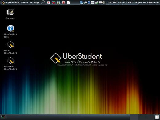 Risultati immagini per UBERSTUDENT linux download