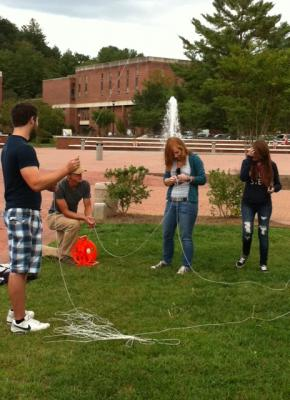 Campus mapping at WCU