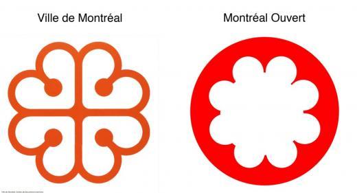 montreal ouvert logo comparison