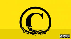 Copyright license choice (broken copyright)