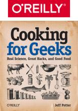 O'Reilly media and Cooking for Geeks book