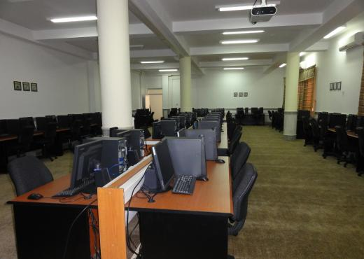 View of the new IT center at the University of Herat