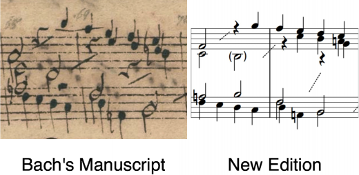 New format for Bach's work