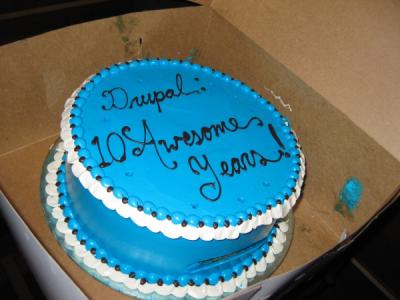 Drupal 10 years [cake]
