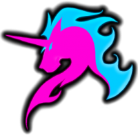 The Fighting Unicorns logo
