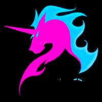 The Fighting Unicorns logo