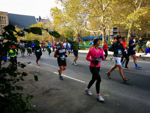 Runners of all ages, gender and nationality