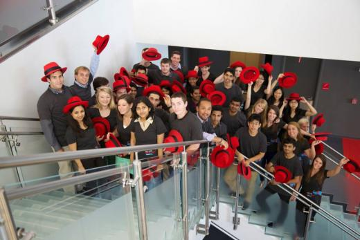 Red Hat interns 2013