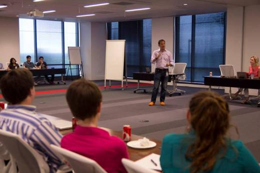 Lunch and Learn with Jim Whitehurst
