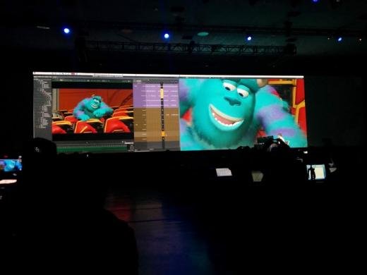 Pixar at tech conference