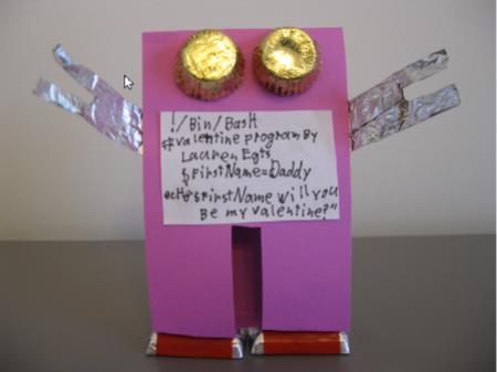 Lauren Egts' robot