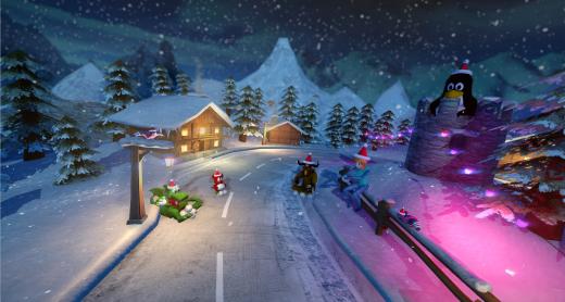 SuperTuxCart Merry Christmas beta version