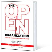 The Open Organization book cover profile