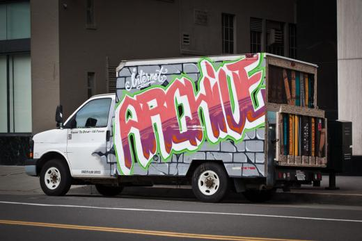 Internet Archive truck
