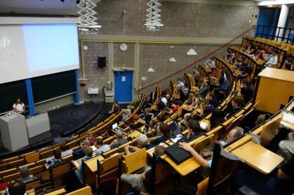 Lightning talks at a conference